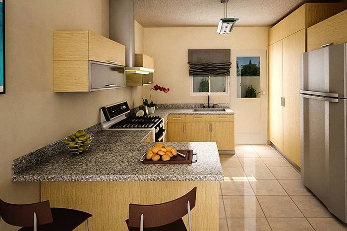 D kitchens desarrollo e instalaci n de interiores y for Cocinas integrales grandes